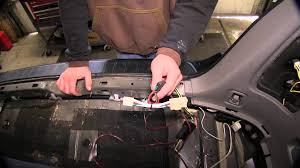 2005 toyota highlander towing capacity installation of a trailer wiring harness on a 2005 toyota