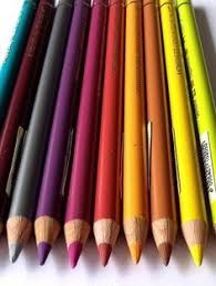colorful pencils wallpapers freshly sharpened colored pencil tips closeup paper and more