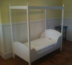 Toddler Bed With Canopy Toddler Canopy Bed Plans And Easier Than You Think