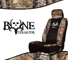 Realtree Bench Seat Covers Bone Collector Seat Covers Ebay