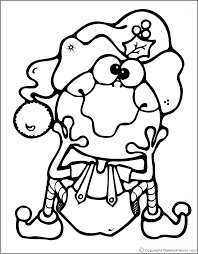 Christmas Coloring Pages Christmas Frog Coloring Page Frog Colouring Page