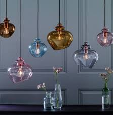 Colored Glass Pendant Lights Top 10 Coloured Glass Pendant Lights For Contemporary Spaces