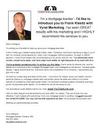 marketing introduction letter self introduction marketing letter