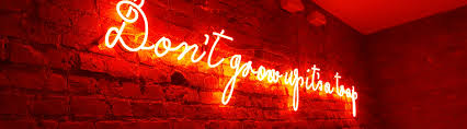 neon lights and signs to buy or hire from neon creations