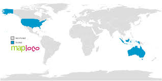 countries visited map countries i ve visited australia indonesia united states