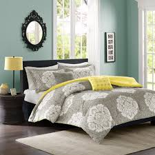 White Bed Set King Yellow Grey White Simple Modern Bedding Sets U2013 Ease Bedding With Style