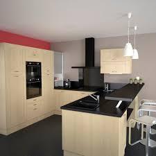 couleur mur cuisine bois cuisine en bois structuré stilo noyer naturel kitchens modern