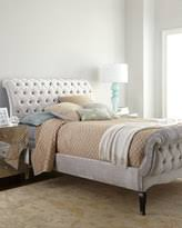 California King Sleigh Bed Tufted Sleigh Bed Shopstyle