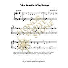 when jesus christ was baptized piano cathyneff com