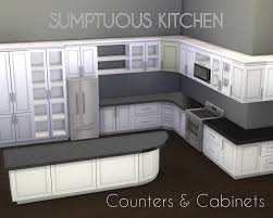 how to make a corner kitchen cabinet sims 4 mod the sims sumptuous kitchen set