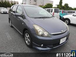 toyota japan used toyota wish from japan car exporter 1112041 giveucar