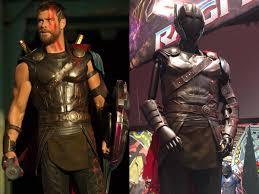thor costume thor ragnarok photos chris hemsworth s costume on display
