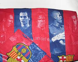 Barcelona Duvet Set Fc Barcelona Player Duvet Set Messi Iniesta Puyol Valdés Xavi