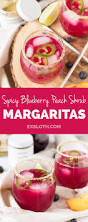 blueberry martini recipe spicy blueberry peach shrub margaritas recipe healthy