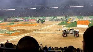 monster jam houston 1 3 2015 racing highlights