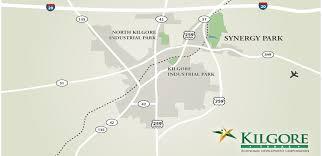 kilgore map kilgore map kilgore economic development corporation