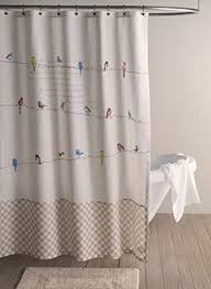 Birdhouse Shower Curtain Barbados Bathroom Collection Shower Curtain Shell Rustic Decor