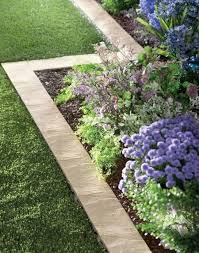 Fascinating 60 Garden Ideas Cheap by Fascinating Flower Bed Paver Edging 60 In Modern Home With Flower