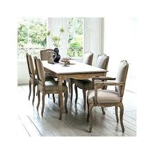 solid oak dining table and 6 chairs wood dining table set lesdonheures com