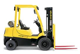 hyster vs toyota ice pneumatic tire forklift comparison