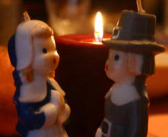 pilgrim candles thanksgiving vintage gurley candles