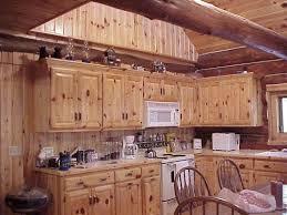 Log Home Kitchen Cabinets - granite countertops log cabin kitchen beautiful artistic log