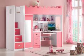 bureau fille et blanc lit childrenus desk ikea trofast hack liamus room avec lit