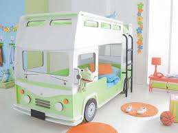 Racing Car Beds For Children Room Car Bed Small Staircase - Kids bedroom ideas with bunk beds
