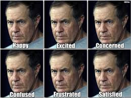 Bill Belichick Memes - a fan s guide to recognizing the many moods of bill belichick