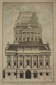 Neoclassical Architecture Drawn Bulding Neoclassical Architecture Pencil And In Color