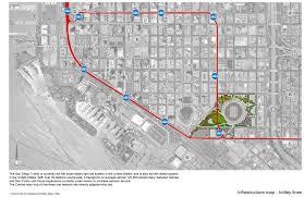 Trolley San Diego Map by Gallery Of San Diego Stadium Master Plan De Bartolo Rimanic