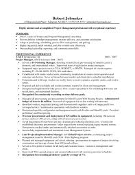 management resume format project work resume format by