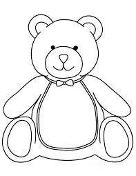 teddy bear want to have breakfast coloring page teddy bear want