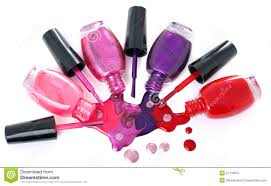 image gallery of spilled nail polish bottle clip art