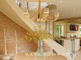 mother of pearl floor l maya romanoff s mother of pearl tiles glow brilliantly in this