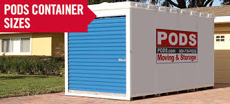 pods moving and storage container sizes