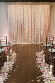 Wedding Altar Backdrop Best 25 Ribbon Backdrop Ideas On Pinterest Hanging Paper
