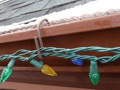 shingle hooks to hang lights with made from aluminum