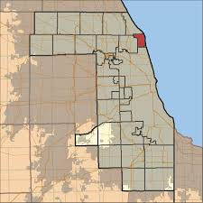 Chicago County Map With Cities by Evanston Township Cook County Illinois Wikipedia