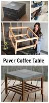ana white outdoor coffee table ana white concrete paver outdoor coffee table diy projects