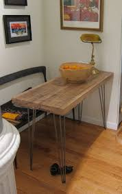 narrow kitchen tables for small spaces outofhome