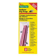 victor poison free victor poison free indoor fly trap 2pk m507 pest