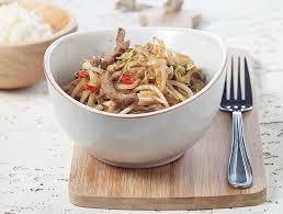 comment cuisiner les pousses de soja émincé de bœuf aux germes de soja colruyt