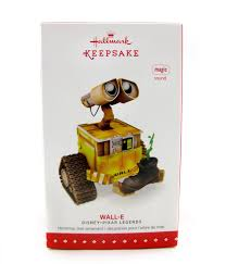 dan the pixar fan wall e hallmark keepsake ornament with sound