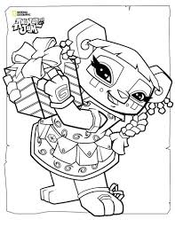 animal jam coloring pages the daily explorer