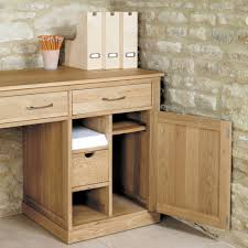 hidden office desk mobel oak large hidden office twin pedestal desk azura home style