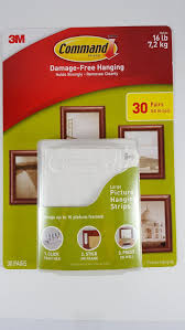 Hanging Pictures On Wall by Command Damage Free Picture And Frame Hanging Large Strips 30