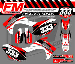honda cdr bike fm slash kit fresh moto