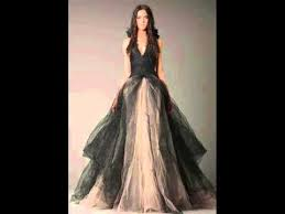 black wedding dresses wedding dress fantasy youtube