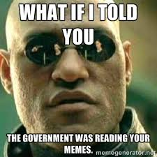 Internet Police Meme - thought police alert federal government dedicates 1 million to